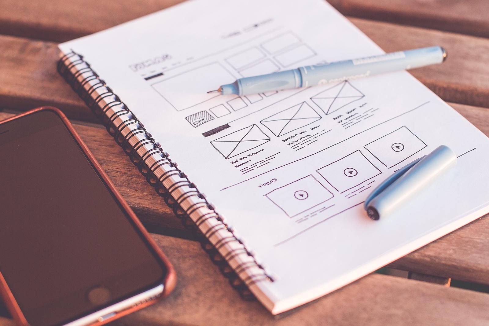 planning your web design